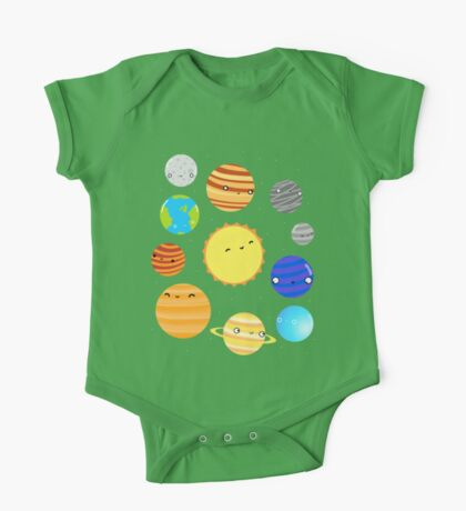 The Solar System One Piece - Short Sleeve