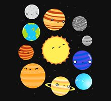 The Solar System Men's Baseball ¾ T-Shirt