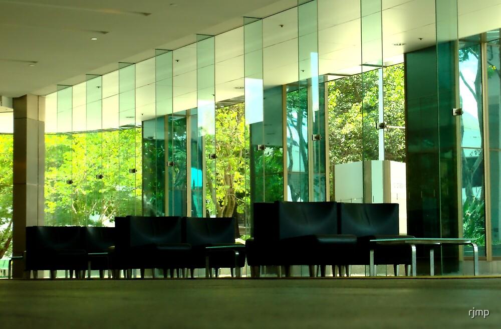 Deserted Office Building Foyer by rjmp