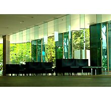 Deserted Office Building Foyer Photographic Print