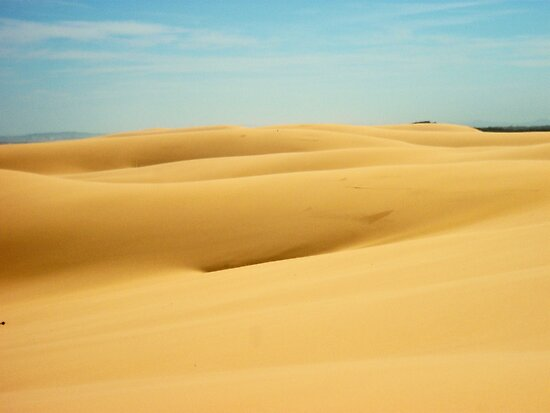 Sand Dunes by buttons39