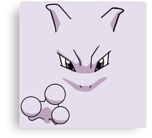 Classic Mewtwo Canvas Print