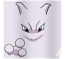 Classic Mewtwo Poster