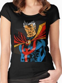 Dr. Doctor Strange Women's Fitted Scoop T-Shirt
