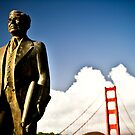 Joseph Strauss in San Francisco by Nathan Jermyn