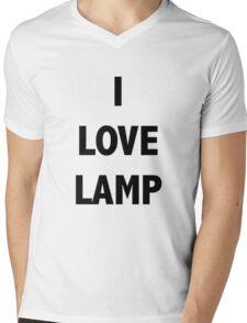 I LOVE LAMP Mens V-Neck T-Shirt