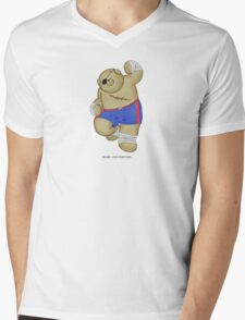 BEARS and FIGHTERS - Sagat Mens V-Neck T-Shirt