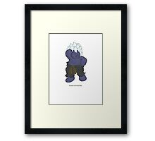 BEARS and FIGHTERS - Oni Framed Print
