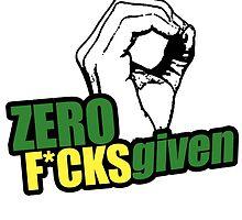 Zero F*cks given by ihip2