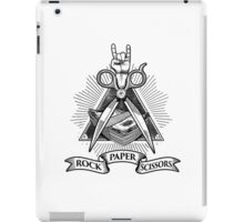 Rock Paper Scissors iPad Case/Skin