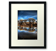 Willow Creek Cove 2 Portrait Framed Print