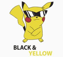 Black & Yellow Kids Clothes