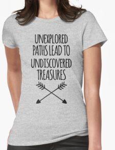 Unexplored Paths Quote T-Shirt