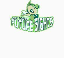 Ilex Forest Future Sights: Celebi Sports Logo Men's Baseball ¾ T-Shirt