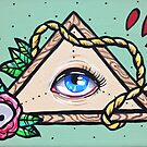 All seeing eye by Stolensouljess