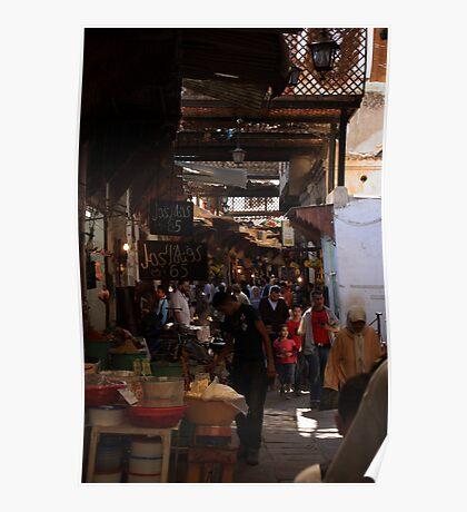 The old medina, Fez Poster