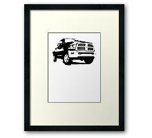 Ram 2500 Laramie Crew Cab 2011 Framed Print