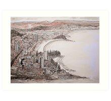 landscape #1 Art Print