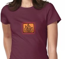 I am a Firebender Womens Fitted T-Shirt