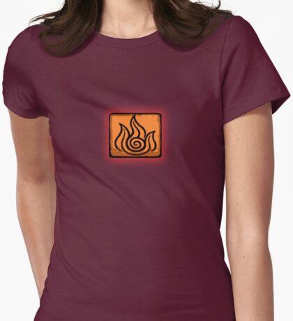 I am a Firebender Womens Fitted T-Shirt