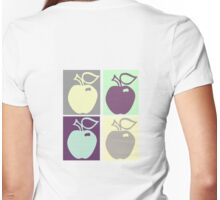 Four Apples T-Shirt Womens Fitted T-Shirt