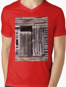 Air-conditioned Barn Mens V-Neck T-Shirt