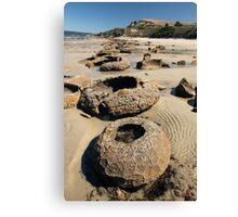 Beach Bowl-ders Canvas Print