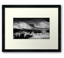 Ocean power Framed Print