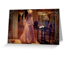 Satin & Silk  Greeting Card