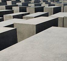 Holocaust Memorial, Berlin, Germany by OlurProd