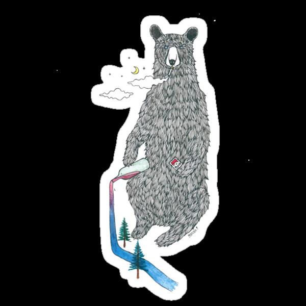 Bear Sesh by Mariah Piesse