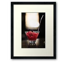Cushdy Cocktail Framed Print