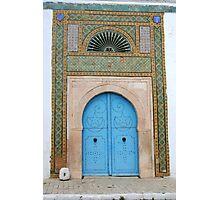 Bardo Museum Doorway Photographic Print