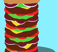 Tower Burger by Daniel Bonney