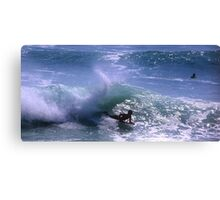 Surfing in Bali, Indonesia Canvas Print