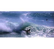 Surfing in Bali, Indonesia Photographic Print