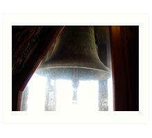 Big Bell of Geneva Art Print
