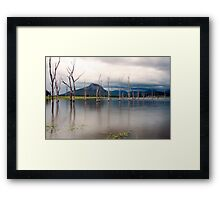Lake Moogerah Framed Print