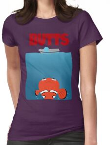 BUTTS - JAWS Parody Womens Fitted T-Shirt