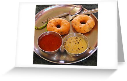Medu Vada - South Indian Breakfast  by Charuhas  Images