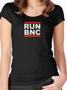 RUN BNC Women's Fitted Scoop T-Shirt