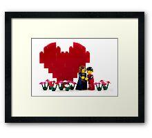 Be My Valentine Framed Print