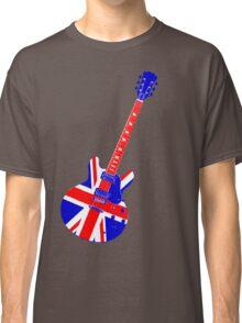 Retro Brit Pop Guitar Classic T-Shirt
