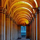 Walkway.., GPO, Melbourne,Australia by Max R Daely