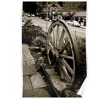 Old wheel,Sassafras,Victoria Poster