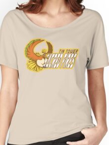 Tin Tower Sacred Fires: Ho-oh Sports Logo Women's Relaxed Fit T-Shirt