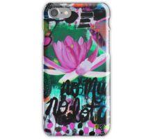 No Mud No Lotus iPhone Case/Skin