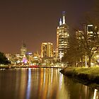 Yarra River ...#2,Melbourne,Australia by Max R Daely