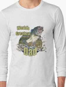 Worlds greatest dad Long Sleeve T-Shirt