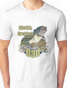 Worlds greatest dad Unisex T-Shirt